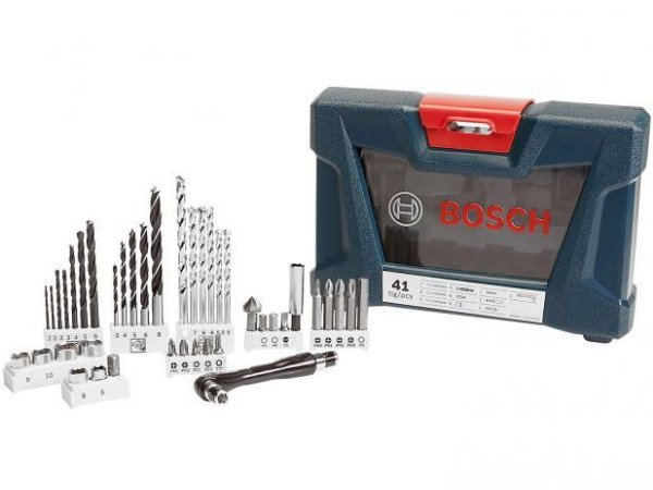 Bosch Jogo de Brocas V-Line 41 Pçs