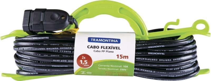 Tramontina Extensão de Cabide 1,5 mm² 15MT