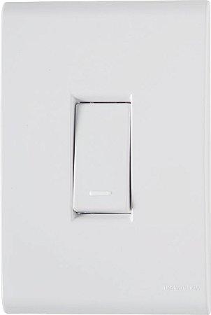 Tramontina Liz 1 Interruptor Simples 10A 1 Tomada 2P+T 10A
