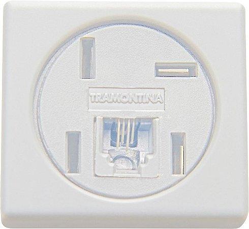 Tramontina Módulo Branco Telefone 4P+RJ11