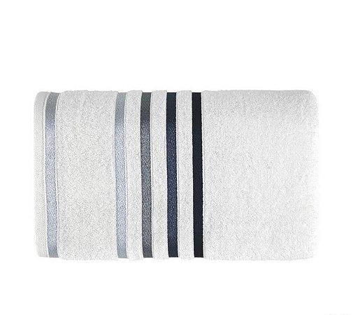 Karsten Toalha Banho Lumina Branco/Azul