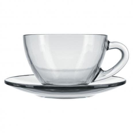 Duralex Xícara Chá C/ Prato Astral
