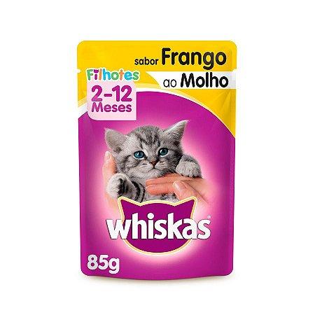 Whiskas Sachê Filhotes Frango 85G