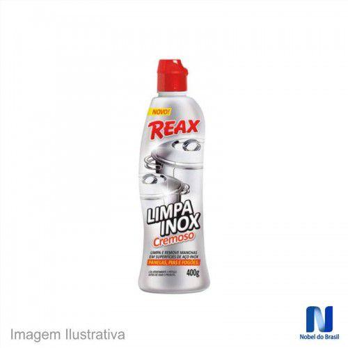 Nobel Reax Limpa Inox 400g
