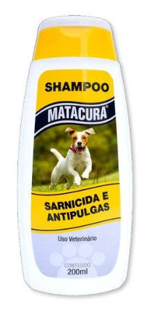 Matacura Shampoo Sarnicida e Antipulgas 200mL