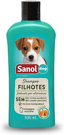 Sanol Dog Shampoo Filhote 500mL