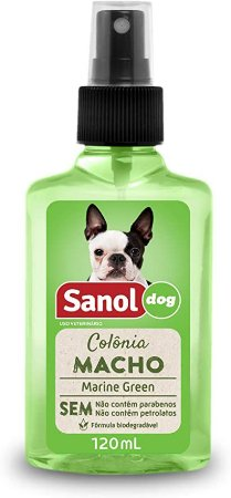 Sanol Dog Colônia Marine Green Macho 120mL