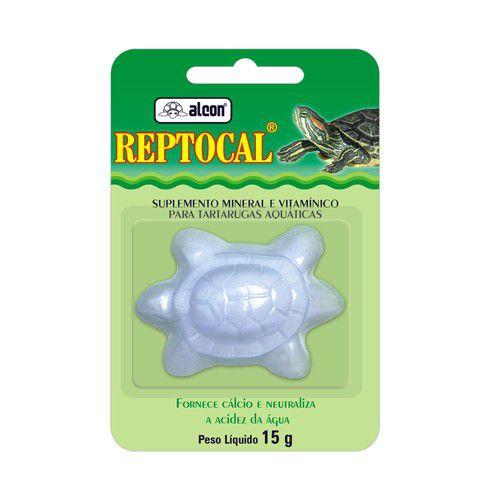 Reptocal Suplemento Mineral Tartaruga 15g