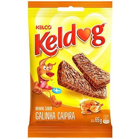 Kelco Keldog Bifinho Galinha Caipira 65g