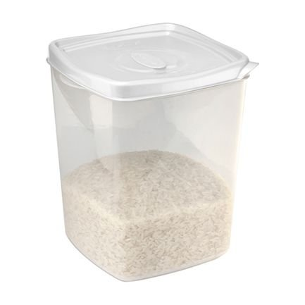 Plasvale Pote Freezer/Microondas 4,5L Branco
