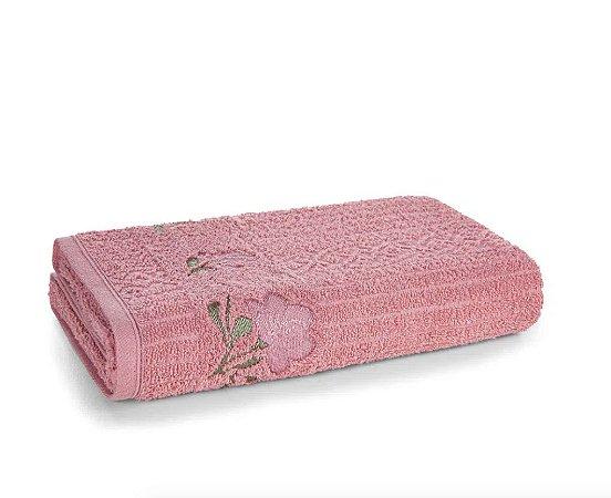 Karsten Toalha de Banho Yana Lady Pink/ Verde
