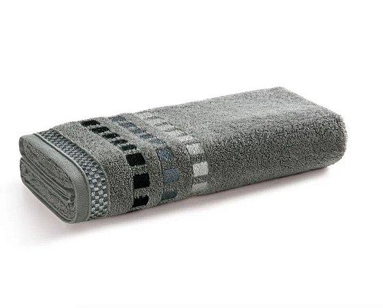 Karsten Toalha de Banho Fio Cardado Calera Cinza Steel