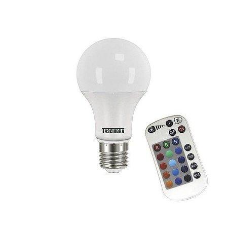 Taschibra Lâmpada Led TKL RGB C/ Controle 9W