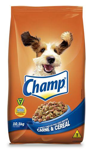 Ração Champ Adulto Carne e Cereal 10,1KG