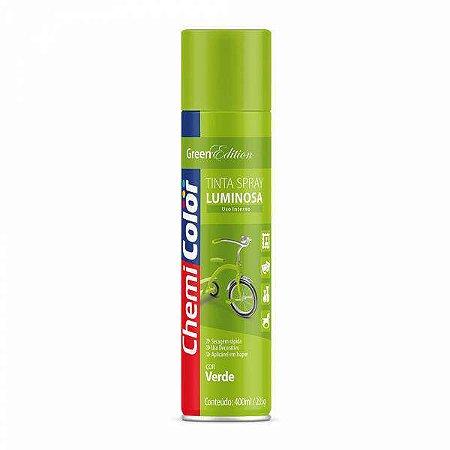 Tinta Spray Luminosa Verde 400mL