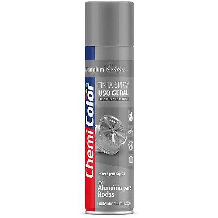 Chemicolor Tinta Spray U.G. Alumínio P/ Rodas 400mL