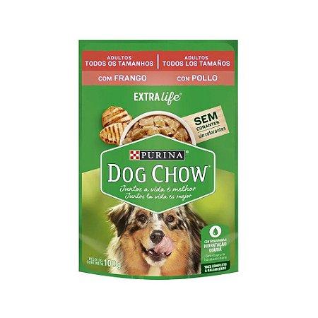 Purina Dog Chow Adulto Frango e Arroz 100g