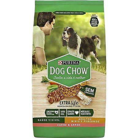 Purina Dog Chow Adulto Raças Pequenas Carne e Arroz