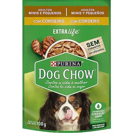 Purina Dog Chow Adulto Raças Pequenas Cordeiro 100g