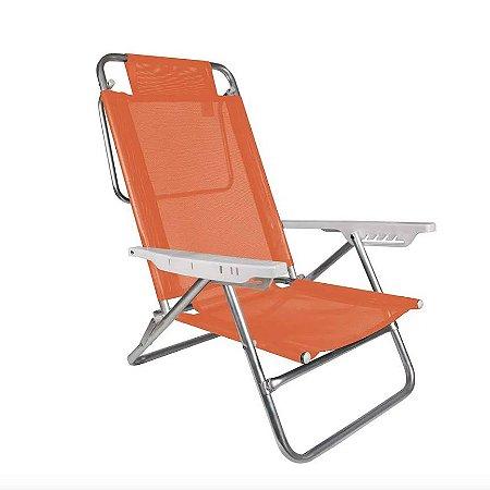 Mor Cadeira Reclinável Summer Fashion Coral