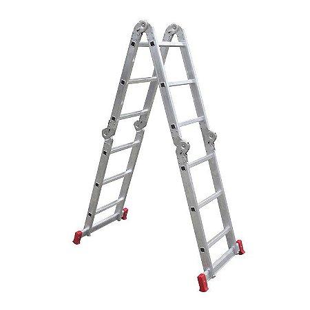 Botafogo Escada em Alumínio Articulada 3X4