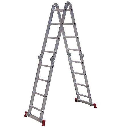 Botafogo Escada em Alumínio Articulada 4X4