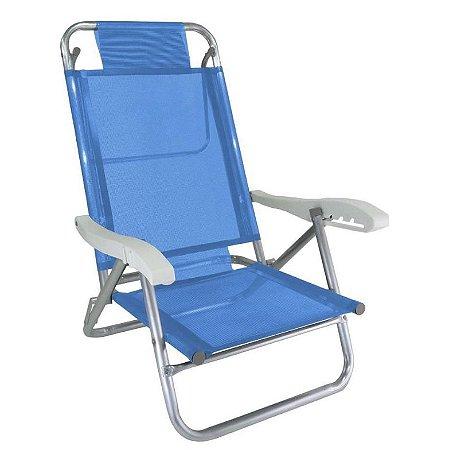 Zaka Cadeira Banho de Sol Azul