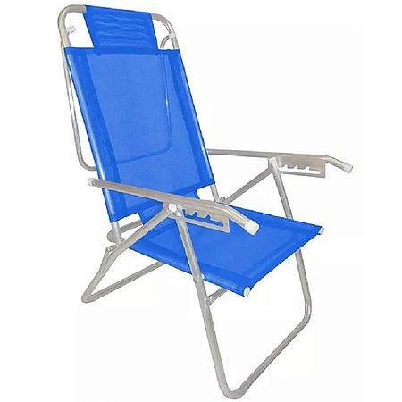 Zaka Cadeira de Praia Up Azul