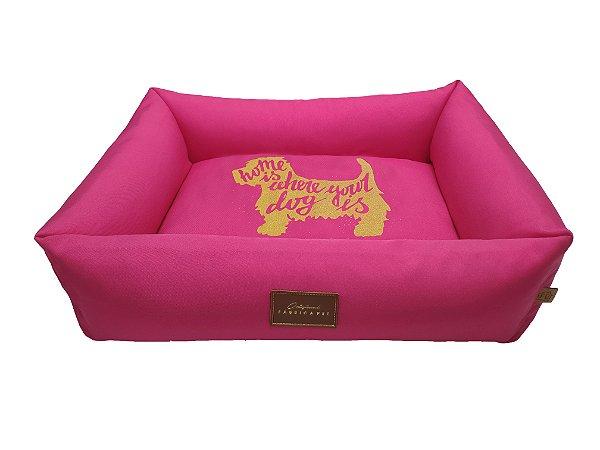 Fábrica Pet Cama Chile Rosa M