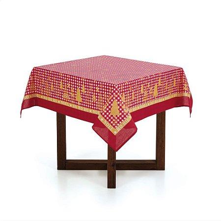 Karsten Toalha de mesa Quadrada 4 Lugares Decoração de Natal