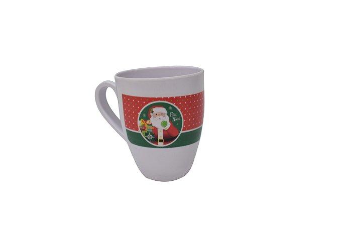 Fartex Caneca Papai Noel Branca