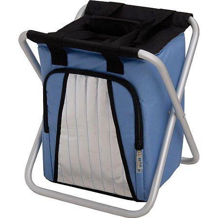 Mor Ice Cooler Banqueta 25 Litros Azul