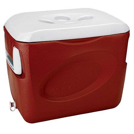 Invicta Caixa Térmica Vermelha 45L