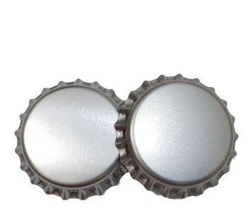 Tampa Metal P/ Garrafa 0,9mm 10 Unidades