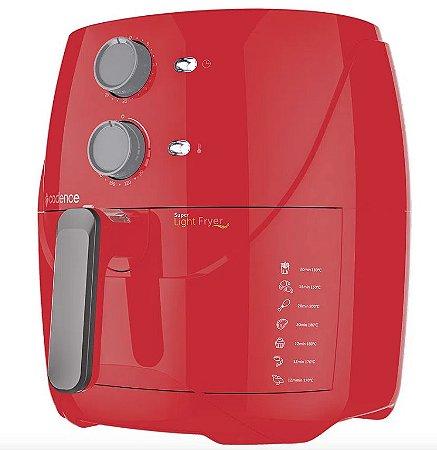 Cadence Fritadeira Sem Óleo 3,2L Super Light Fryer Colors Vermelha