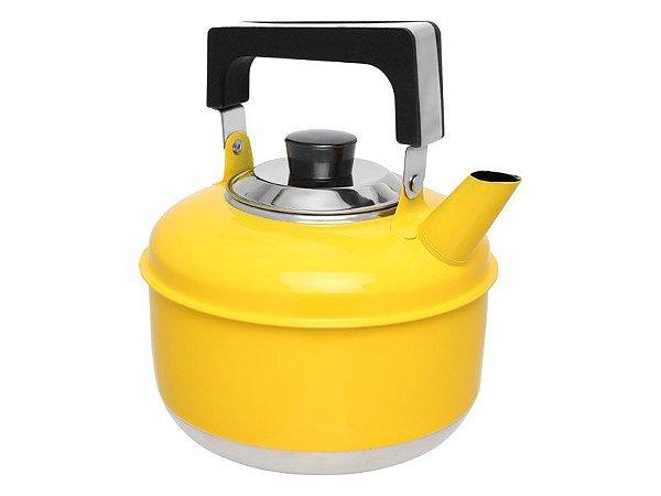 Ravinox Chaleira Inox 2 L Colors Amarela