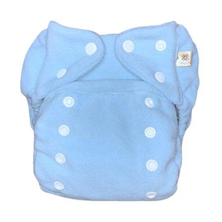 Fralda ecológica noturna pocket Mayaru Azul