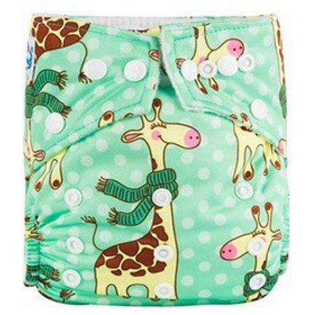 Fralda ecológica Girafa