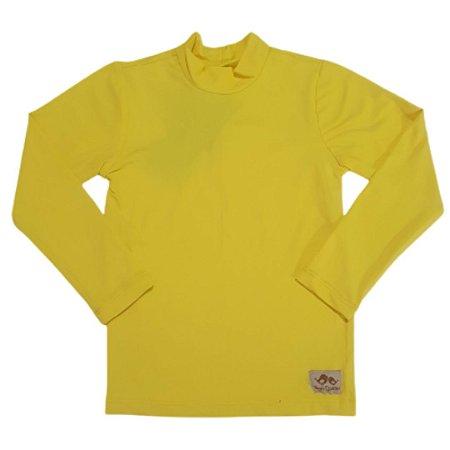 Camisa com proteção UV50+  Amarela