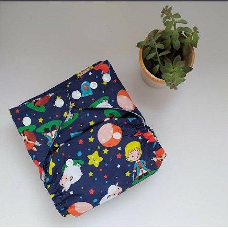 Fralda Pequeno Príncipe com absorvente