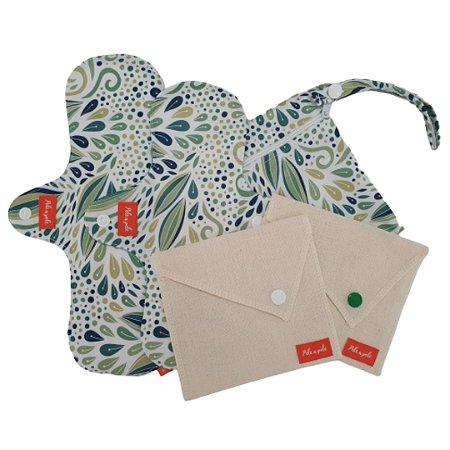 Kit Absorvente menstrual Abstrato