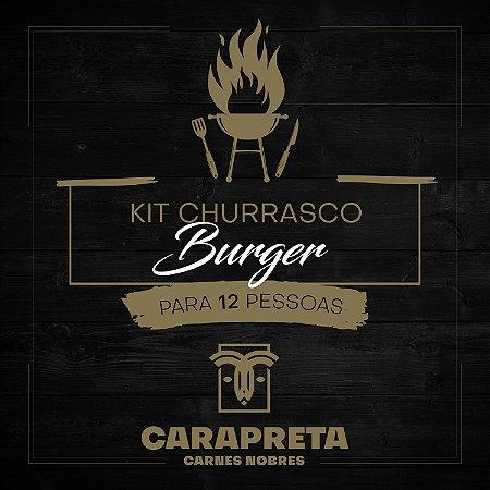 KIT CHURRASCO BURGER