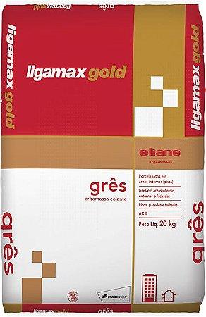 Argamassa Eliane Ligamax Gold Gres ACII 20 KG