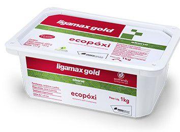 Rejunte Eliane Ligamax Ecopoxi Cx 1KG Preto