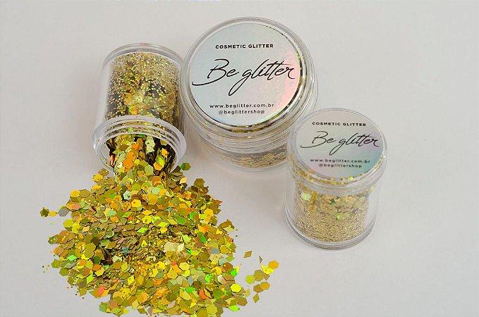 Glitter Ryca Gold