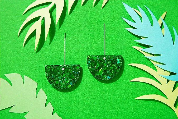 Brinco Canoa - Emerald Green