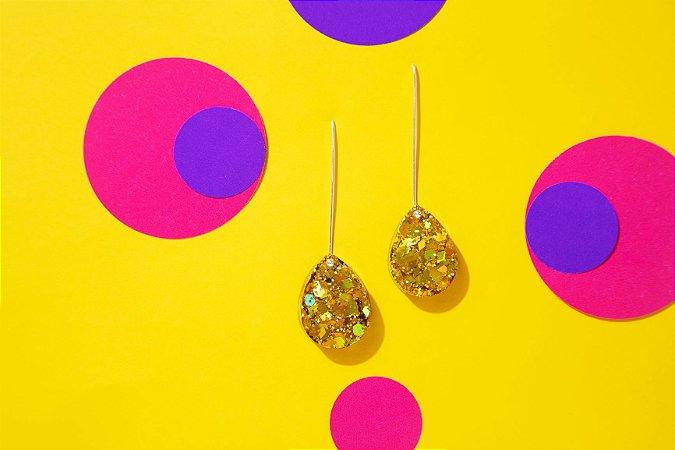 Brinco Pingo - Gold