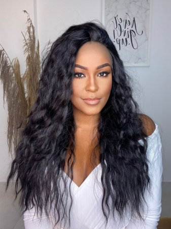 Lace front Wig Ondulada Anne
