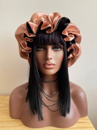 Touca Luxo de Cetim  - IT Wigs Tamanho G