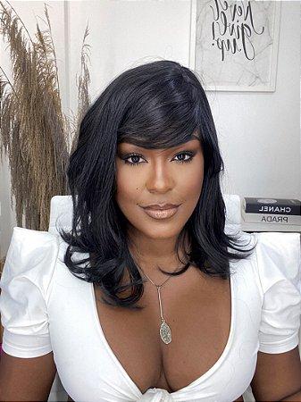Wig fibra orgânica Christy